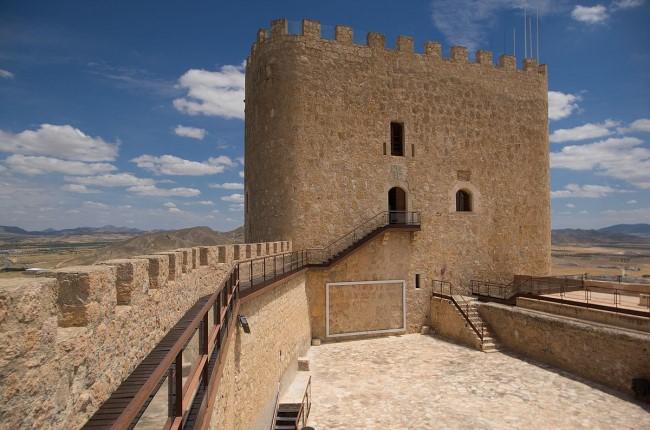 Castillo de Jumilla Murcia
