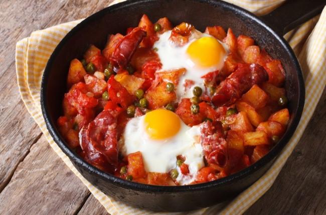 huevos a la flamenca sevilla