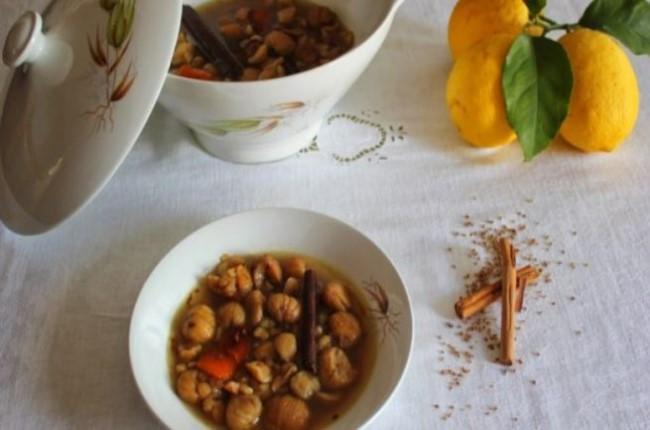 potaje de castañas Huelva