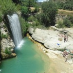 Piscinas naturales en Huesca