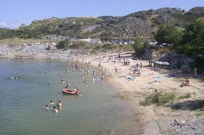 playa fluvial ricobayo zamora