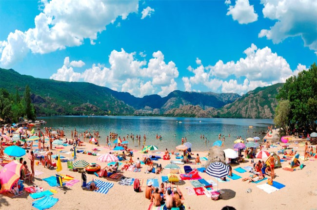 playas Lago de Sanabria Zamora