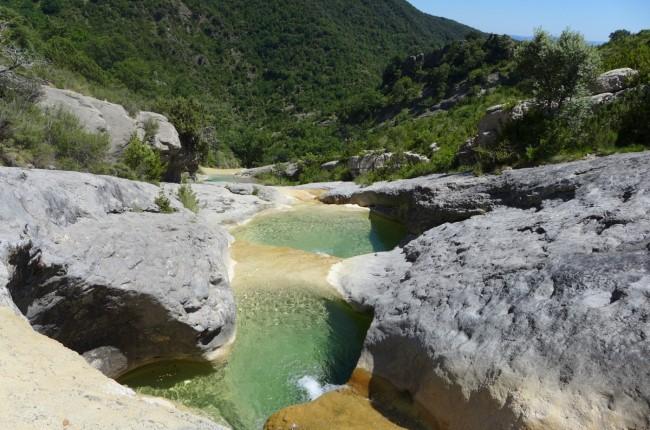 pozas del barranco de Ascaso Huesca