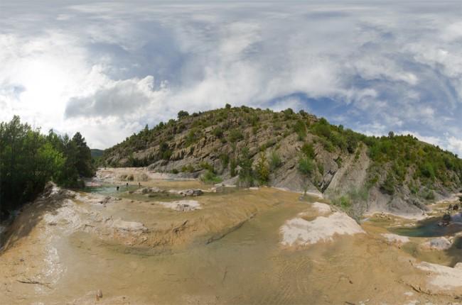 pozas de Belsue Huesca