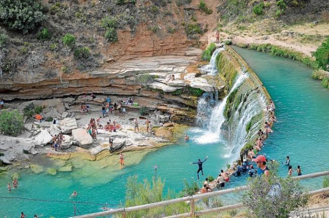 salto de Bierge Huesca