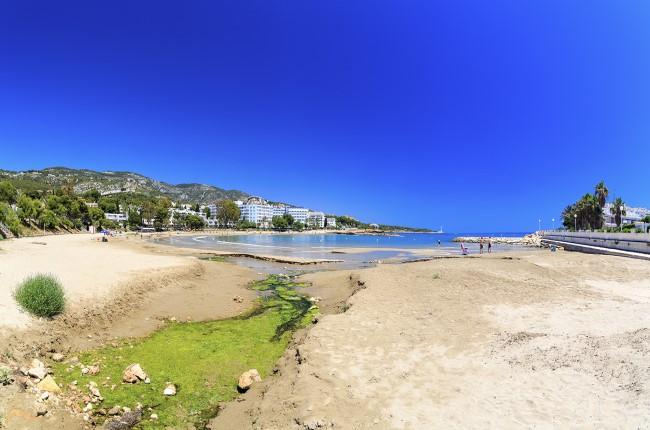 Playa Les Fonts Castellón