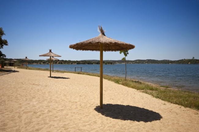 Playa de Cheles Badajoz