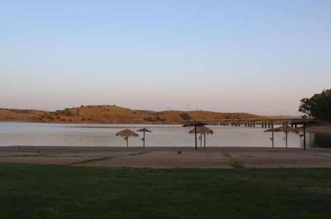 Playa los Calicantos Badajoz