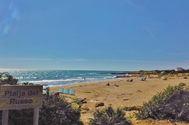Playa del Russo Castellón