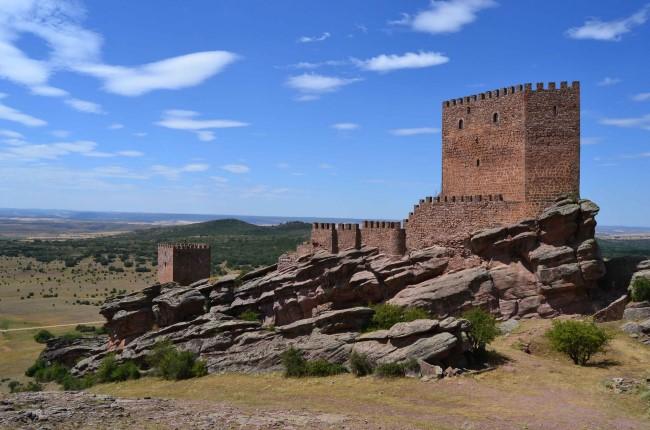 Castillo de Zafra Guadalajara