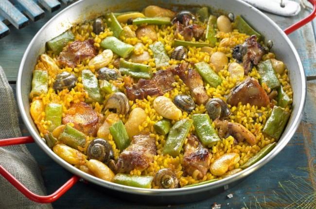comida típica valenciana