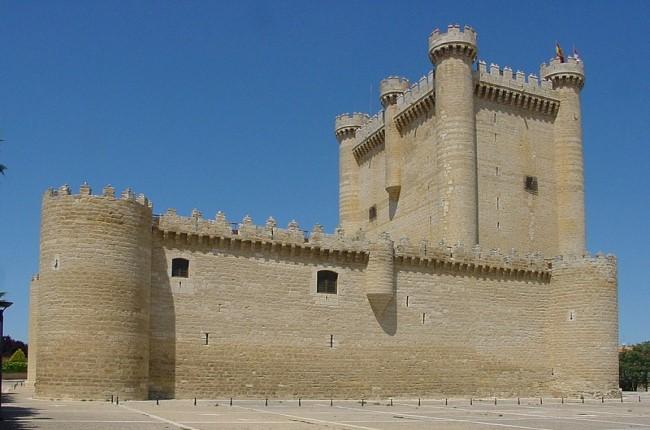Castillo de Fuensaldaña Valladolid