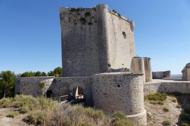 Castillo de Íscar Valladolid