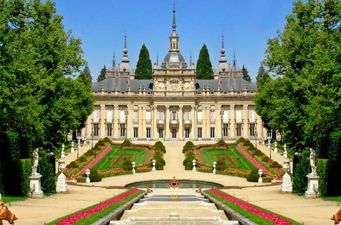 Jardines de la Granja de San Ildefonso Segovia