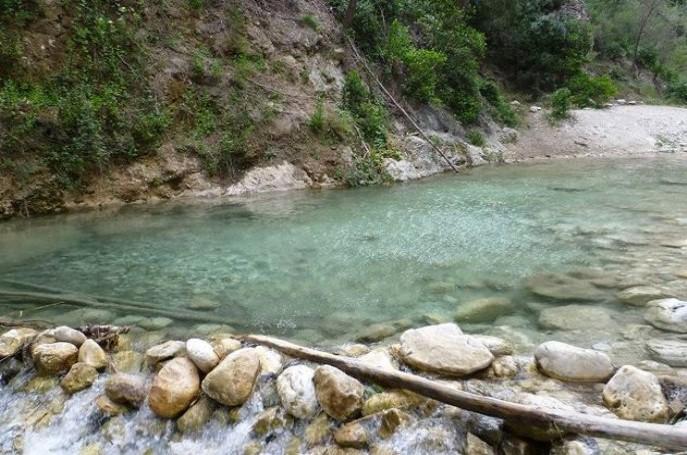 Piscinas del Río Chillar Málaga