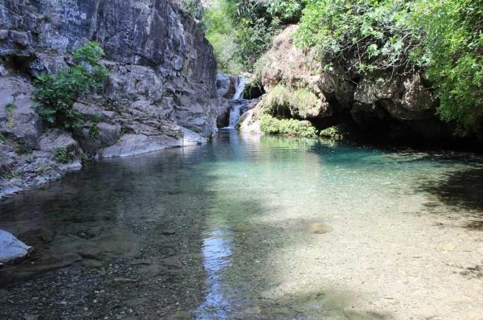 Piscinas naturales Barranco Blanco en Coín