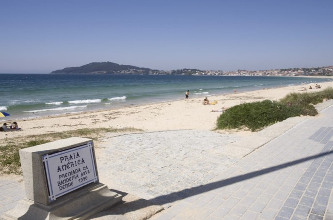 Playa América Pontevedra
