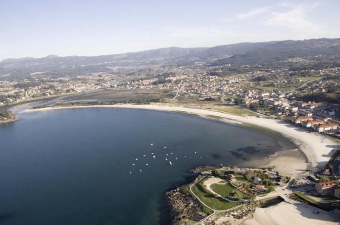 Playa Ladeira Pontevedra
