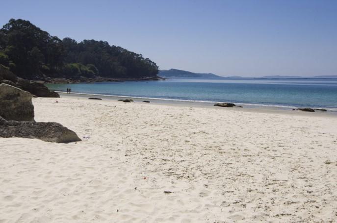 Playa de Lapamán Pontevedra