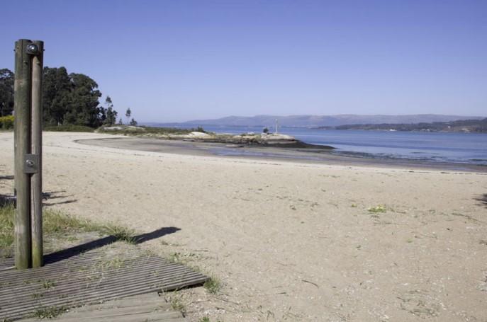 Playa de Bamio Pontevedra