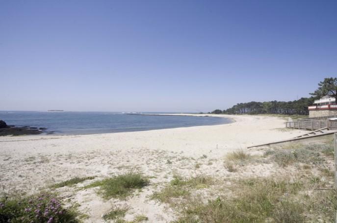 Playa de O Muiño Pontevedra