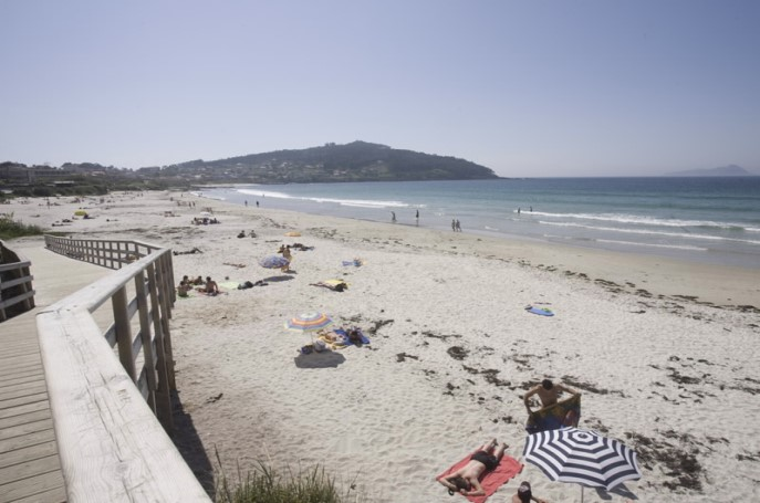 Playa de Patos Pontevedra