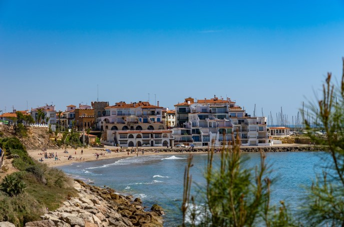 Playa Punta de la Guineu Tarragona