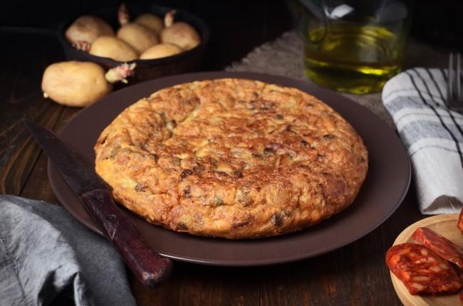 Tortilla payesa Girona