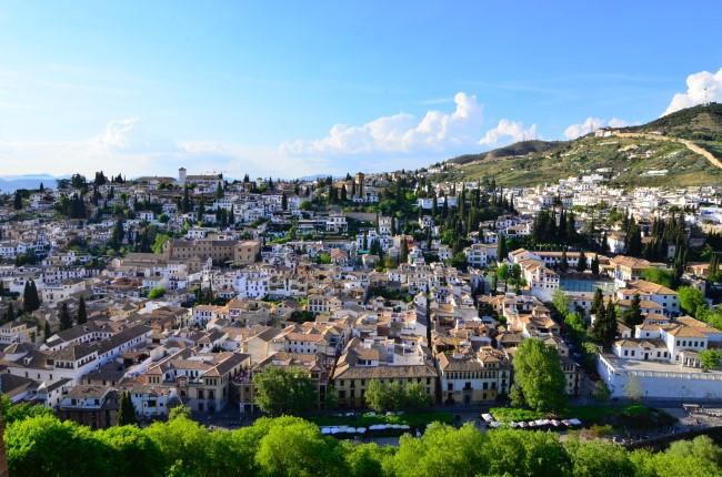 Vistas Granada desde la Alhambra