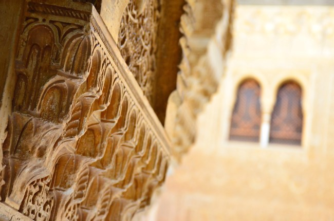 detalle Alhambra de Granada