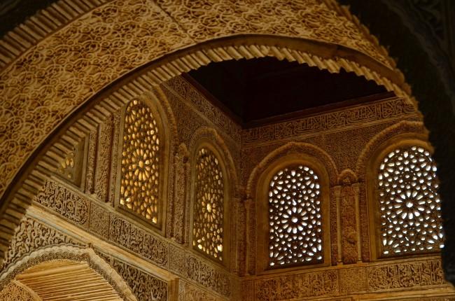 interior Alhambra de Granada