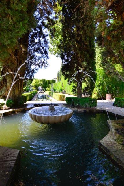 jardines de la Alhambra Granada