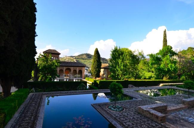 jardines palacios nazaries