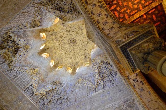 techos palacios nazaries Alhambra