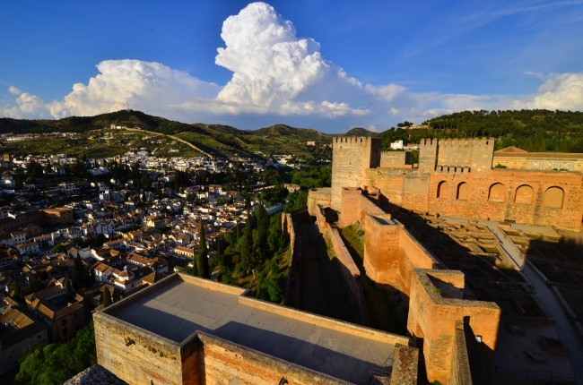 vistas Alcazaba Alhambra Granada