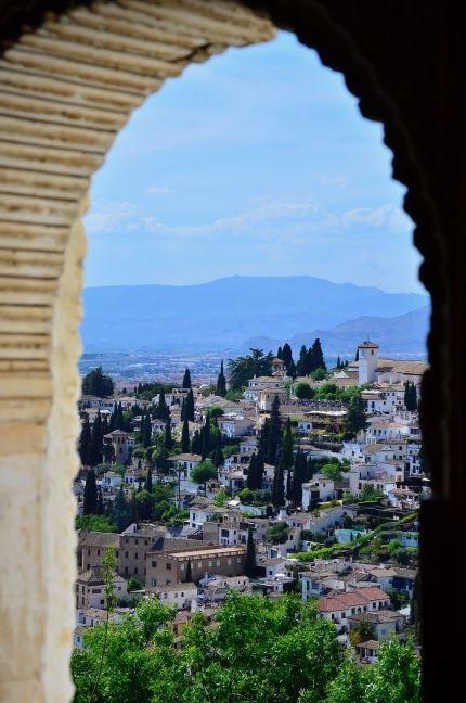 vistas granada desde Alhambra