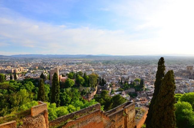 vistas granada desde la Alcazaba
