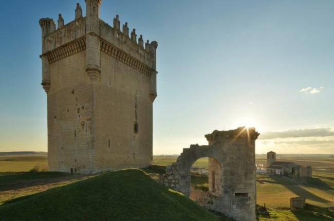 Castillo de Belmonte de Campos Palencia