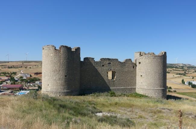 Castillo de Hornillos de Cerrato Palencia
