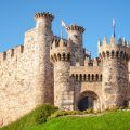 Castillo de los templarios León