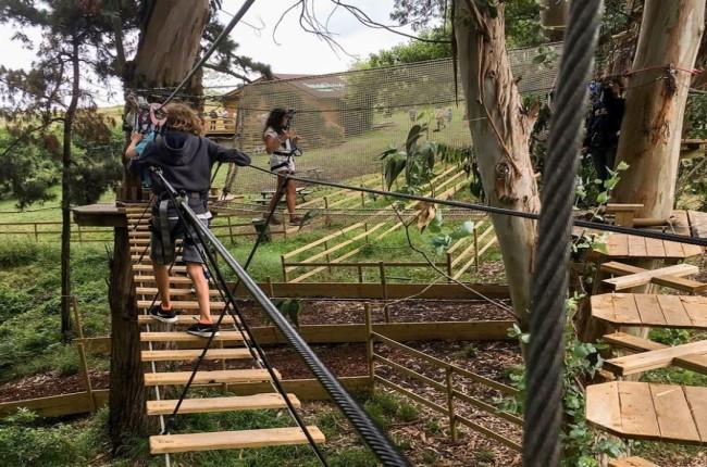 Parque de aventuras Forestal Park Cantabria
