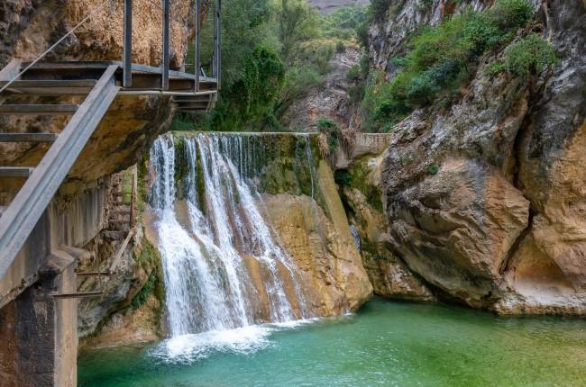 Pasarelas del río Vero Huesca