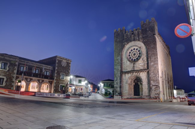 Portomarín iglesia san nicolás