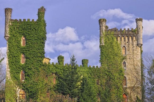 Castillo de Las Caldas Asturias