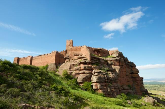 Castillo de Peracense Teruel