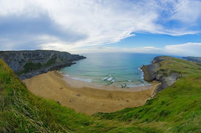 Playa de Antuerta Cantabria