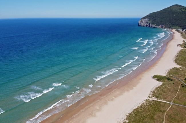 Playa de Berría en Santoña Cantabria