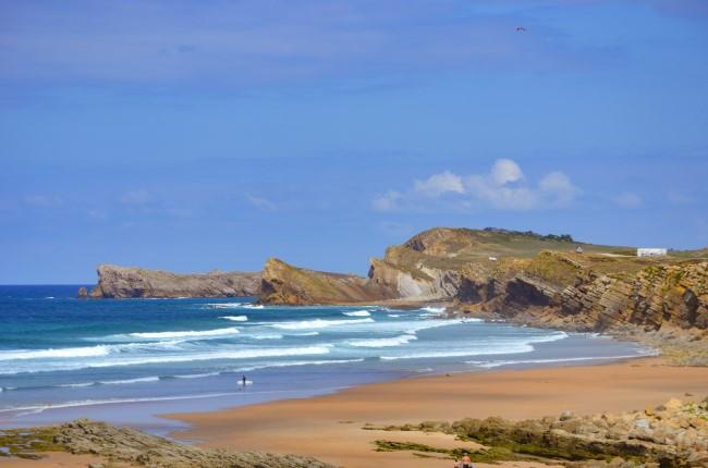 Playa de Valdearenas Cantabria