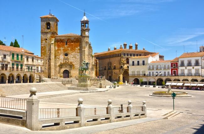 Plaza Trujillo Caceres