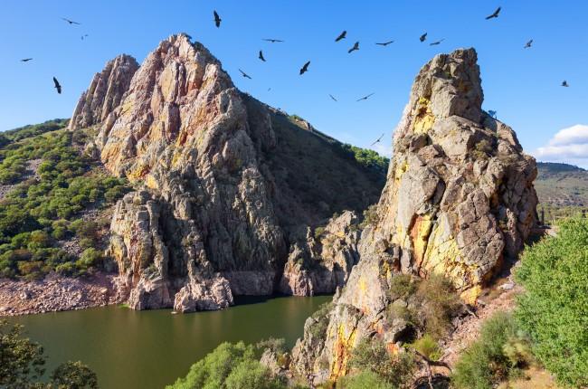 Saltod el Gitano Monfrague Cáceres